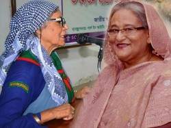 Sheikh Hasina Meets Her Old Friend Nazma Shams After 50 Years