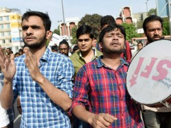 Jnu Sedition Row Kanhaiya Kumar Umar Khalid Raised Anti India Slogan Says 1200 Page Charge Sheet