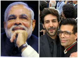 Pm Modi Asks How S The Josh At B Town Event Later Reacts To Karthik Aryan