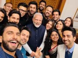 Karan Johar Post Video Bollywood Stars Before The Meeting With Modi