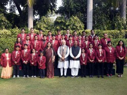 Pm Interacts With Winners Rashtriya Bal Puraskar