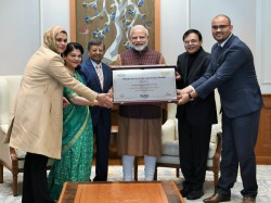 Pm Narendra Modi Receives First Ever Philip Kotler President Award
