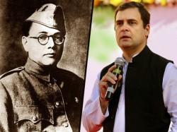 Rahul Gandhi Tweet On Netaji Subhas Chandra Bose Sparks Controversy