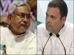 Nitish Kumar Blames Rahul Gandhi Breaking Big Alliance Bihar