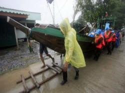 Cyclonic Storm Pabuk Over Thailand Its Emergence Into Andaman Sea On 5th January