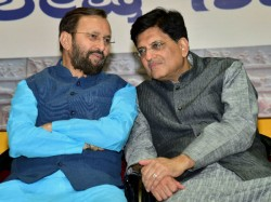 Centre Has Provided Enough Jobs The Last Five Years Claims Piyush Goyal And Prakash Javadekar
