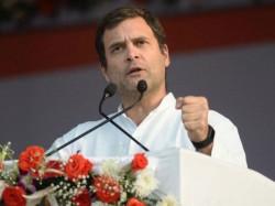 Rahul Gandhi S Announce Minimum Income Guarantee Wins Ls 2019 Vote