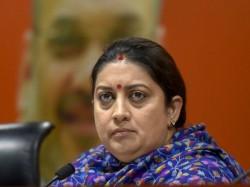 Smriti Irani Attacks Mamata Banerjee On Alliance Opposition