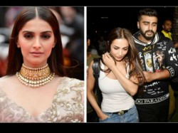 Sonam Kapoor Unhappy With Arjun Kapoor Malaika Arora S Affair