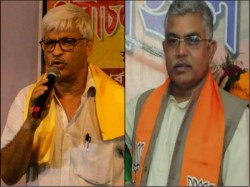 Sujan Chakraborty Criticizes Dilip Ghosh On His Bengali Pm Comment