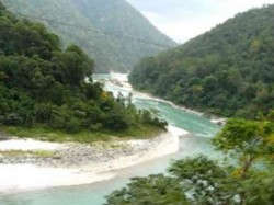Teesta River Is Drying Due Sikkim