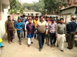 Tmc Shows Agitation Post Office Being Distributed Letter Ayusman Project
