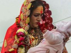 In First Transgenders Take Holy Dip At Kumbh Mela