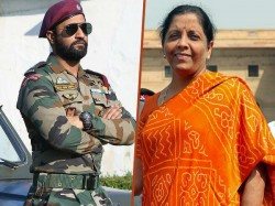 Nirmala Sitharaman Beats Vicky Kaushal At How S The Josh See Viral Video