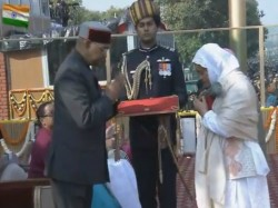 Lance Naik Nazir Ahmed Wani Awarded The Ashok Chakra Received Family