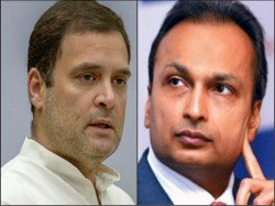 Rahul Gandhi Funs Parliament Anil Ambani As Double A