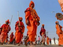 Up Police Deputes Over 20 000vegetarian Cops Kumbh Mela Prayagraj