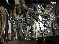 Bjp Leader From Maharashtra Sent Judicial Custody After Seizure Several Weapons From Shop