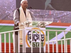Yashwant Sinha At Brigade Meeting Lauds Against Modi