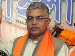 Dilip Ghosh Reaction On Abhishek Banerjee S Comment