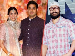 Amid India Pakistan Tension Amir Khan Seen Dancing Akash Ambani Marriage