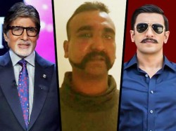 Amitabh Bachchan Karan Johar Ranveer Singh Celebs Join The Call To Bringbackabhinandan