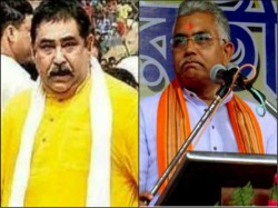 Dilip Ghosh Attacks Anubrata Mandal Has Imported The Politics Murder Nadia