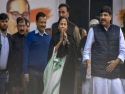 Arvind Kejriwal Attacks Narendra Modi At Opposition Rally