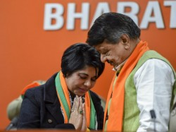 New Joinee Bjp Ex Ips Bharati Ghosh Aide Police Officer Arrested Bengal