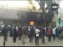 Fire Breaks Near Passenger Waiting Room At Bhubaneshwar Railway Station
