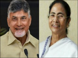 Bengal Cm Mamata Banerjee Will Target Modi From Chandrababu S Dharna