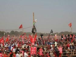 Surjokanta Mishra Gives Message Red Storm Bengal Lok Sabha Election