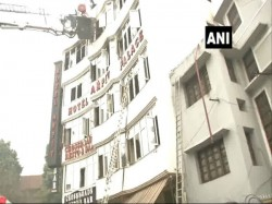 Several Dead Fire At Hotel Delhis Karol Bagh Rescue Operation Underway