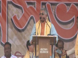 Dilip Ghosh Criticised Mamata Banerjee Her Govt From Bjp S Durgapur Meeting
