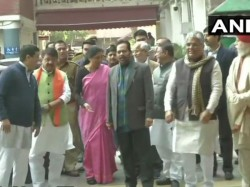 Bjp Delegation Team Meets Election Commission On West Bengal Issue