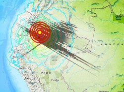 Ecuador Earthquake Huge 7 7 Magnitude Tremor Strikes Border With Peru