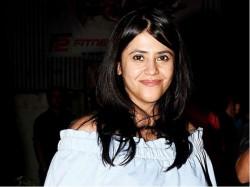 Cnetral Minister Smriti Irani Visits New Born Baby Ekta Kapoor