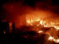 Huge Stored Chemical Is Case Devastating Fire Broke In Bilkanda