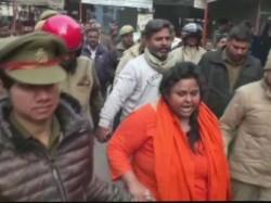 Hindu Mahasabha Leader Pooja Arrested After Recreated Mahatma Gandhi S Assassination