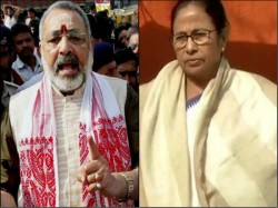 Cm Mamata Can Be Demoness Putana But Can T Be Jhansi Ki Rani Mocks Bjp Giriraj Singh