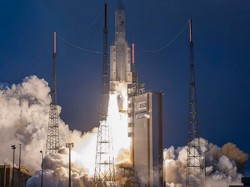 India Launches New Satellite G Sat 31 Against Insat 4c