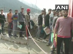 Kashmiri Youths Take Part Army Recruitment Examination After Pulwama Attack