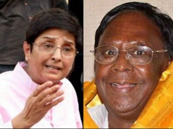 Battling Kiran Bedi Over Helmets Puducherry Chief Minister On Road
