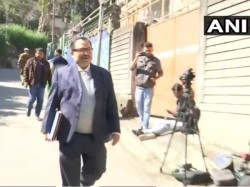 Kunal Ghosh Arrives At The Cbi Office Second Day Interrogation Shillong