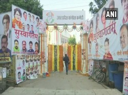 Rahul Gandhi Jyotiraditya Schindhia Join Priyanka S Debut Roadshow Lucknow