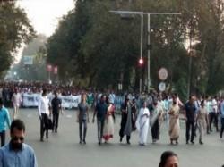 Cm Mamata Banerjee Was On Road Respect Dead Jawans Crpf Pulwama
