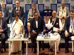 Cm Mamata Banerjee Attacks Pm Narendra Modi From Bengal Business Summit Kolkata