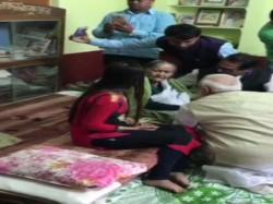 Pm Narendra Modi Met Matua S Binapani Devi Thakur Thakurnagar