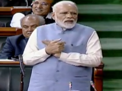 Narendra Modi Says No Earth Quake Five Years Despite Claims