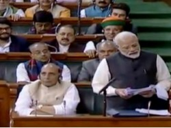 Defence Deals Made Congress Had Presence Middlemen Alleges Pm Modi In Parliament